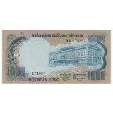 Ю. ВЬЕТНАМ 1000 ДОНГ, 1972 ГОД