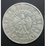 ПОЛЬША 10 ЗЛОТЫХ, 1935 ГОД