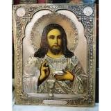 ИКОНА «ХРИСТОС С ХЛЕБОМ И ВИНОМ» (ХЛЕБНЫЙ СПАС)