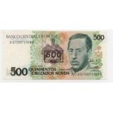 БРАЗИЛИЯ 500 КРУЗАДО, 1990 ГОД