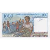 МАДАГАСКАР 1000 ФРАНКОВ, 1994 ГОД