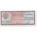 БОЛИВИЯ 100000 БОЛИВИАНО, 1984 ГОД