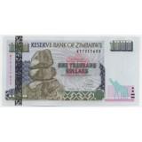 ЗИМБАБВЕ 1000 ДОЛЛАРОВ, 2003 ГОД