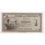 ФРАНЦУЗСКИЙ ИНДОКИТАЙ 1 ПИАСТР, 1945 ГОД