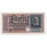 50 РЕЙХСМАРОК 1939 ГОД. БИЛЕТ ИМПЕРСКИХ КРЕДИТНЫХ КАСС