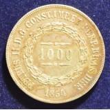 БРАЗИЛИЯ 1000 РЕЙС, 1854 ГОД
