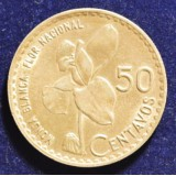 ГВАТЕМАЛА 50 СЕНТАВО, 1962 ГОД