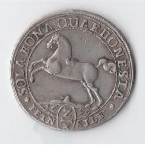ГЕРМАНИЯ. БРАУНШВЕЙГ. 2/3 ТАЛЕРА, 1690 ГОД