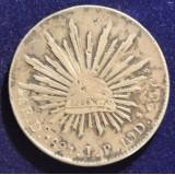 МЕКСИКА 8 РЕАЛОВ, 1891 ГОД
