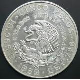 МЕКСИКА 5 ПЕСО, 1959 ГОД