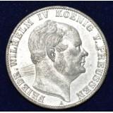 ПРУССИЯ 1 ТАЛЛЕР, 1860 ГОД
