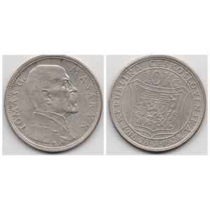 ЧЕХОСЛОВАКИЯ 10 КРОН 1928 ГОД