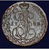 РОССИЙСКАЯ ИМПЕРИЯ 5 КОПЕЕК, 1788 ГОД. ЕМ