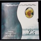 НАБОР «СТОЛЕТИЕ КОРОЛЕВЫ-МАТЕРИ» ВЕЛИКОБРИТАНИЯ 2000 ГОД