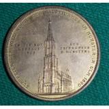 НАСТОЛЬНАЯ МЕДАЛЬ ГЕРМАНИЯ УЛЬМСКИЙ СОБОР (Ulmer Münster) 1923 ГОД